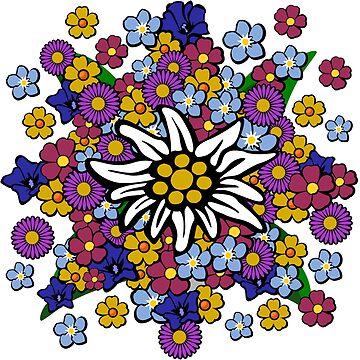 Alpine Flowers by pda1986