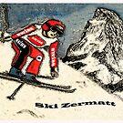 Ski Zermatt by Monica Engeler