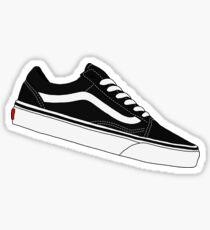 Vans Old Skool Redone - Black and White Sticker
