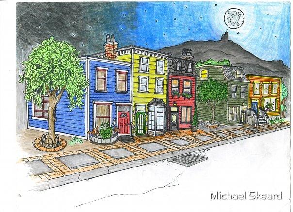 down town random by Michael Skeard