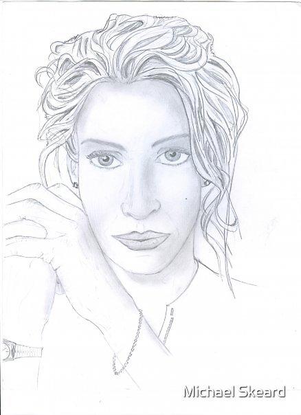 pretty lady by Michael Skeard