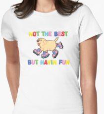 Nicht das Beste Aber .... Tailliertes T-Shirt