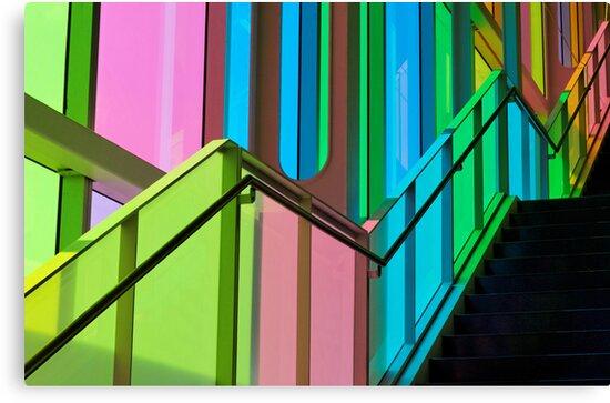 Candy Coloured Palace by Johanne Brunet