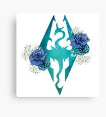Rose Dragonborn Canvas Print