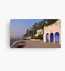 Early Morning in Portmeirion Canvas Print
