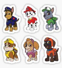 Paw Patrol Stickers Redbubble