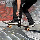 Skate Boarding by David Lee Thompson