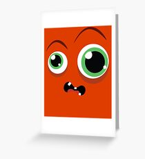 Funky monsters Greeting Card