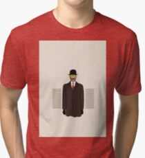 Magritte apple for iphone Tri-blend T-Shirt