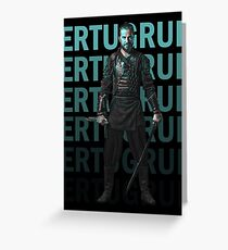 Dirilis Ertugrul  Greeting Card
