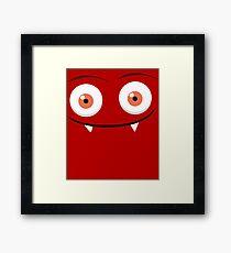 Funky monsters Framed Print