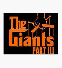 The GIANTS Photographic Print