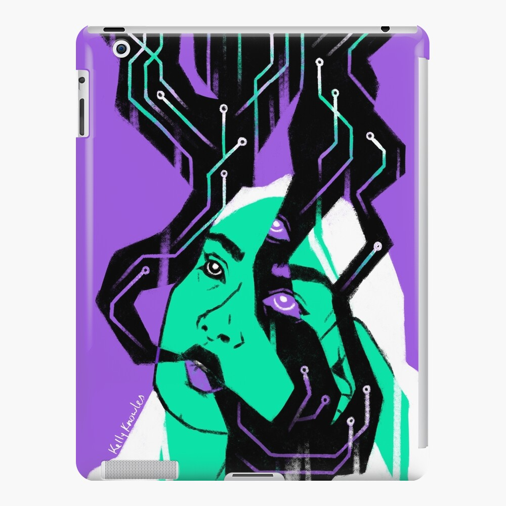 Glitch Witch iPad Case & Skin