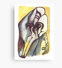 Baile de Máscaras Canvas Print