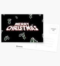 Merry Christmas  Postcards