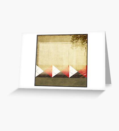 Argyle Wall Greeting Card