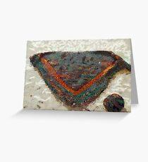 Knitted Shawl and Yarn Ball Greeting Card