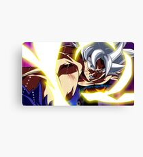 Goku Mastered Ultra Instinct Canvas Print