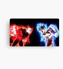 Goku mastered Ultra Instinct vs. Jiren full power Canvas Print