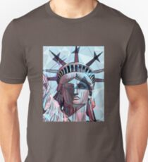 Miss Liberty [sharp mosaic edition 2] Unisex T-Shirt