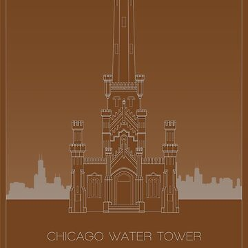Chicago Water Tower by scbb11Sketch