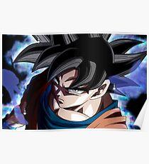Póster Goku Ultra Instinto  Migatte no Gokui