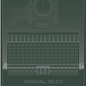 Marshall Field's by scbb11Sketch
