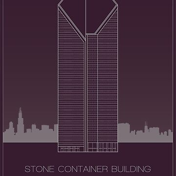 Stone Container Building by scbb11Sketch