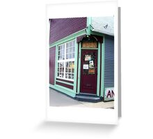 Open or closed? Greeting Card