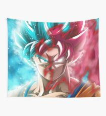 Goku Mastered Ultra Instinct Wall Tapestry