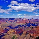 Clouds Over Grand Canyon Magnificence by Nancy Richard