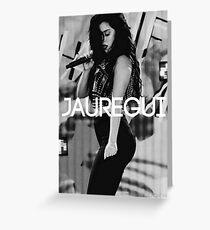 """Tarjeta de felicitación Lauren Jauregui """"Diseños de Jauregui"""""""