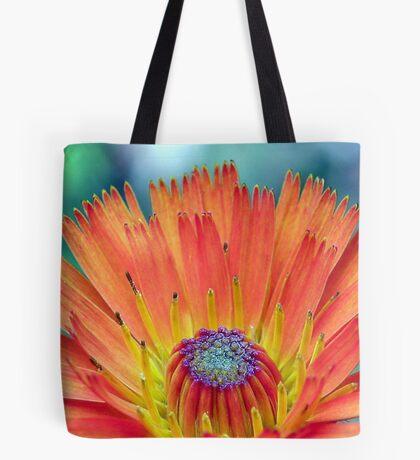 Neon Hawkweed Tote Bag