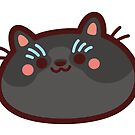 Black CatBlob by Leonie Yue