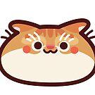 Scottish fold CatBlob by Leonie Yue