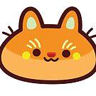 Rainbow CatBlobs: Orange by Leonie Yue