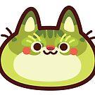 Rainbow CatBlobs: Leafy by Leonie Yue
