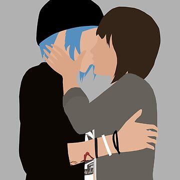 Chloe Price and Max Caulfield kissing - Life Is Strange by kymsus