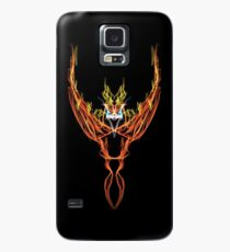 Burning Phoenix Case/Skin for Samsung Galaxy