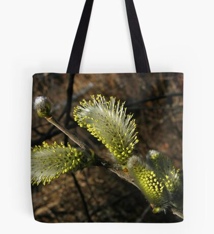 Pussy Willow Blooming Tote Bag