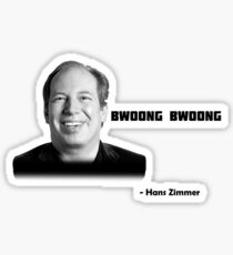 Hans Zimmer Sticker