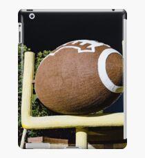 Football and Goalpost iPad Case/Skin