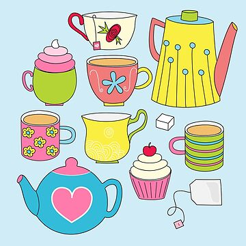 Teapots, cupcakes & more by s3xyglass3s
