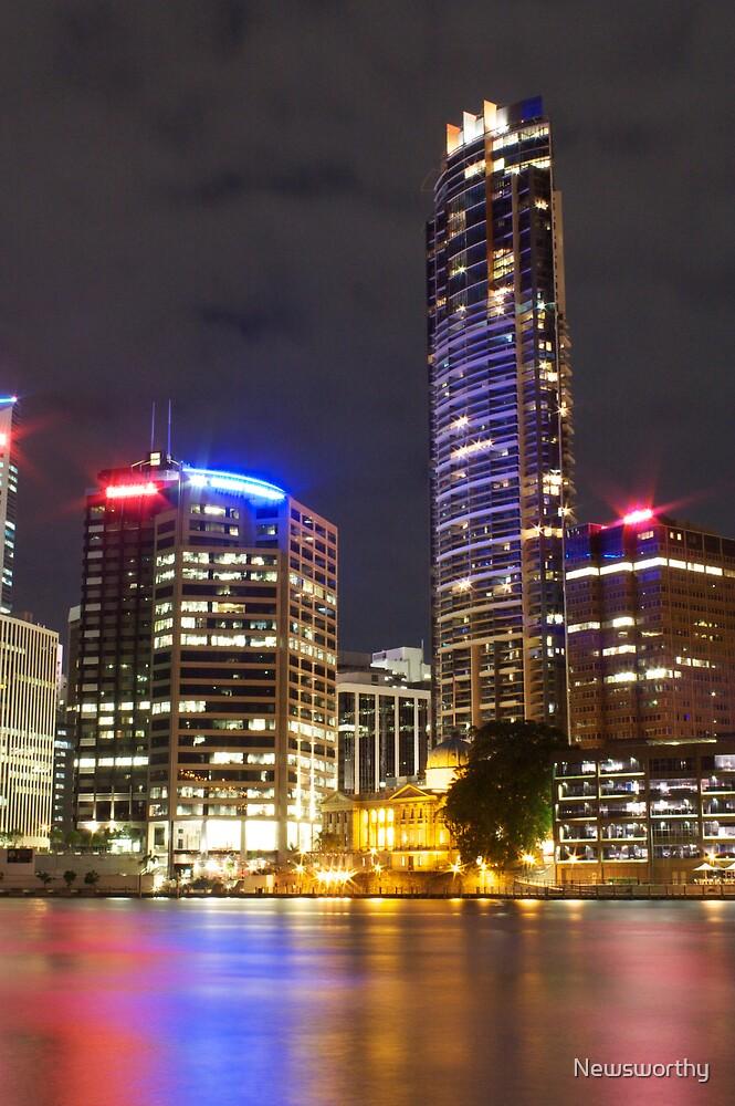 Brisbane CBD from Kangaroo Point 6 by Newsworthy