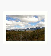 The Western Arthurs ~ Tasmania Art Print