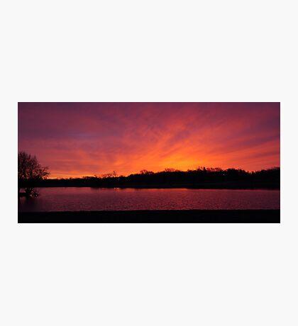 Sunrise at the Lake Photographic Print