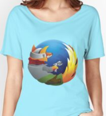 Mozilla Starfox Women's Relaxed Fit T-Shirt