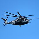 Marine Helicopter In Flight by Cynthia48
