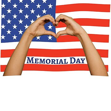 US Memorial Day 2018 in Love to the Fallen by peter2art