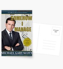 Somehow I Manage by Michael Scott Postcards